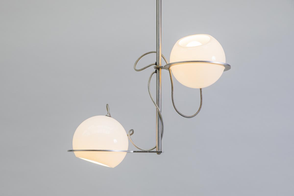 jeu de boules hanglamp tafel verticaal