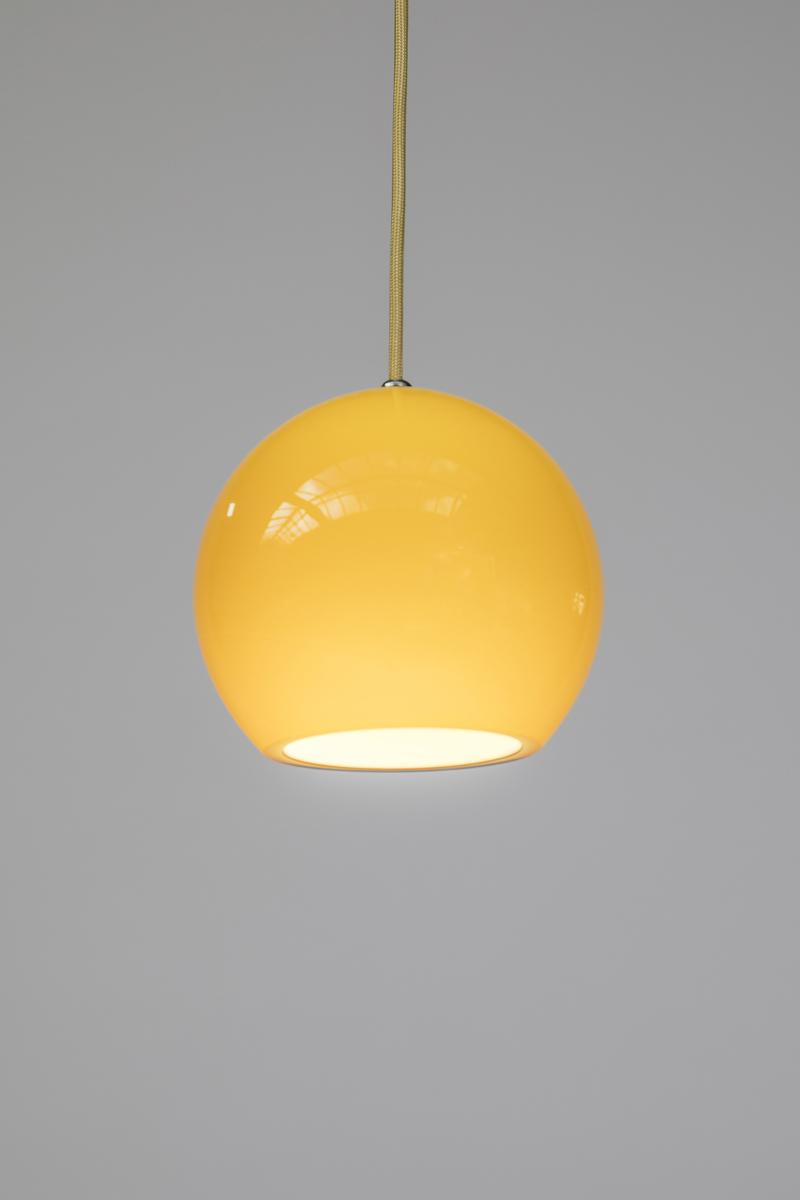 hanglamp glazen bol