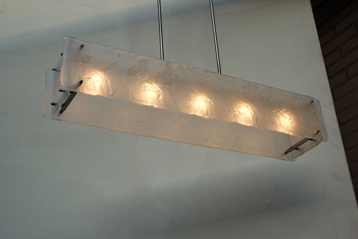 Hanglamp Gefused Glas