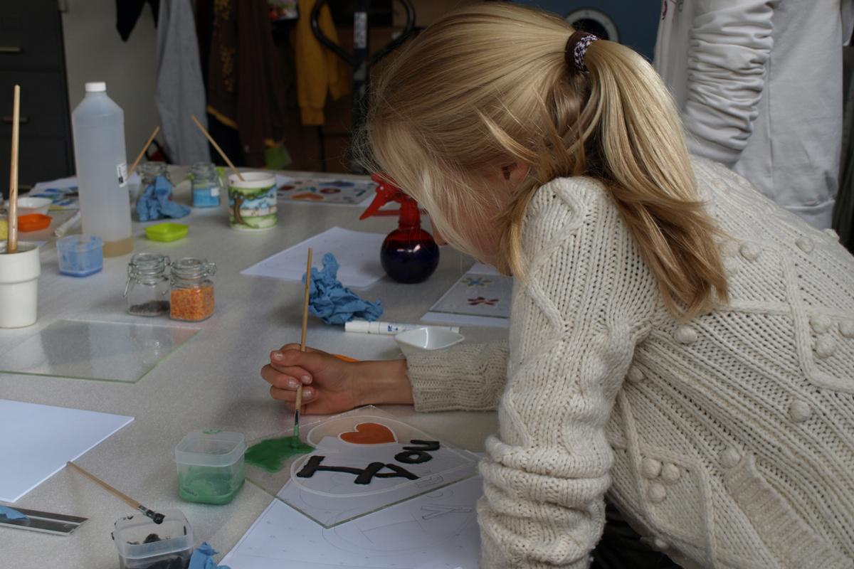 workshop glasfusen kinderen
