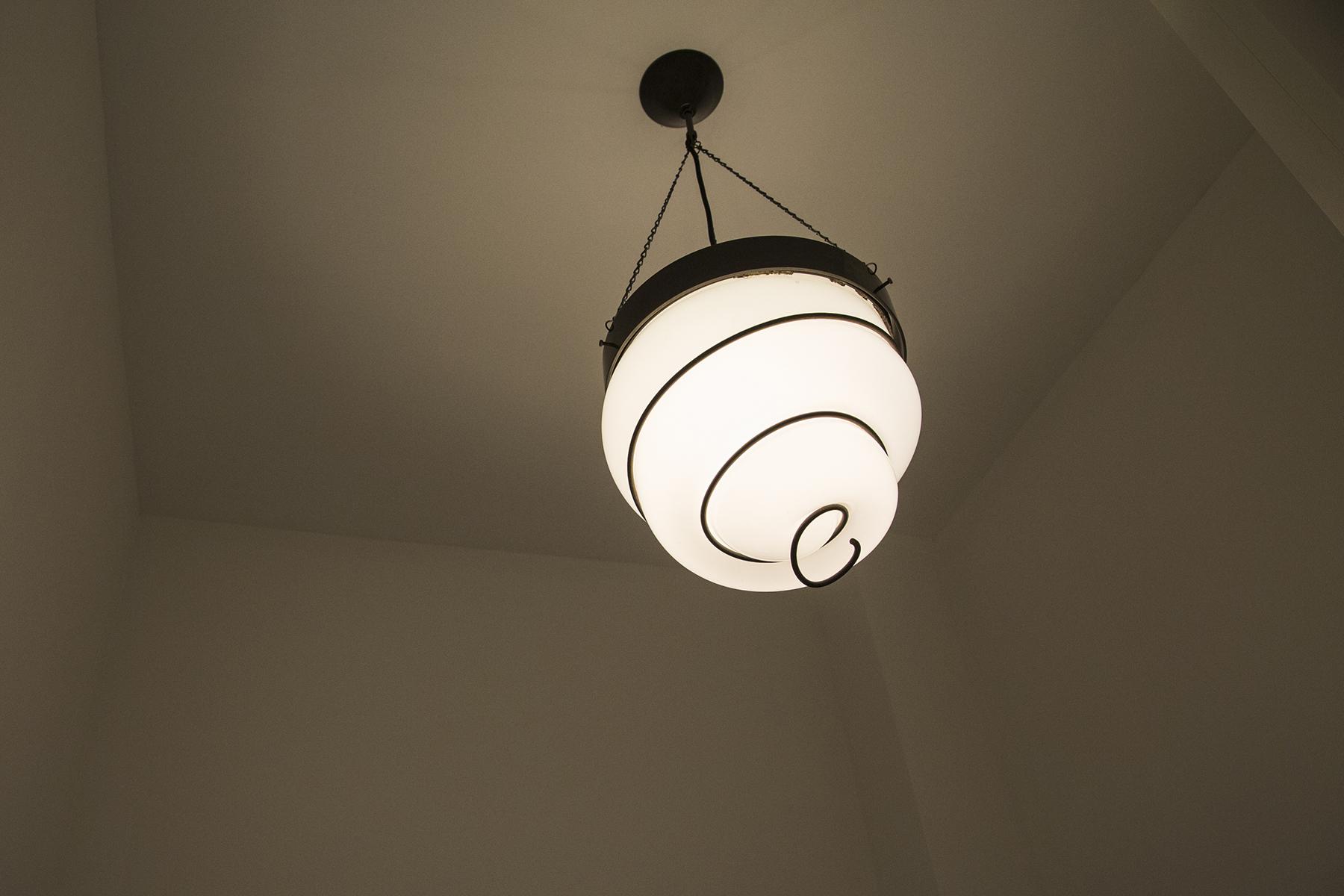 Hanglamp draadglas