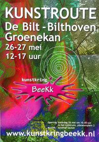 Kunstroute BeeKk 26 en 27 Mei 2018