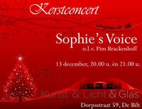 Sophie's voice bij Kunst & Licht & Glas