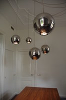 Hanglamp RVS bol