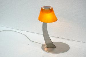 Tafellamp assymmetrisch glas