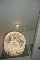 Detail Grote Kristal kroonluchter Grote kristalkroonluchter swarovski