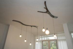 Hanglamp Tak RVS