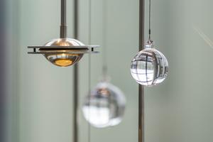 Detail lens en kristal