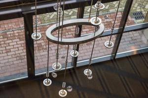 Ovale ringen lichtobject kantoor