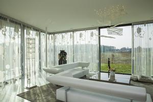 Lichtobject glas huiskamer