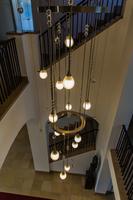 Lichtobject kroonluchter Trappenhuis Jagtlust