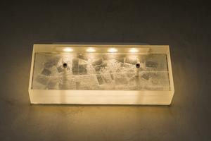 Glacier badkamer wandlamp