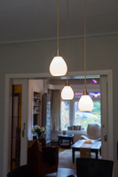 Druppel hanglamp huiskamer