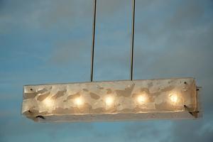 Hanglamp gefused glas