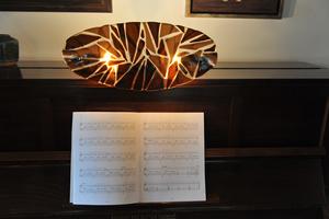 Piano lampje