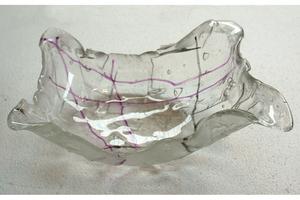 glazen schaal design