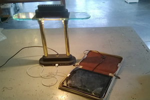 lampen reparatie usb staande lamp