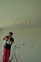 Monteren druppel hanglamp