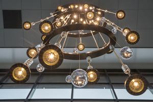 Lichtobject voor kantoor