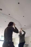 Montage gefused glas lichtobject
