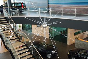 Grote Kroonluchter Sputnik met LED
