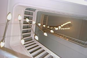 Hanglamp touwladder trapgat