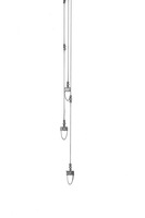 Ontwerp tekening hanglamp design