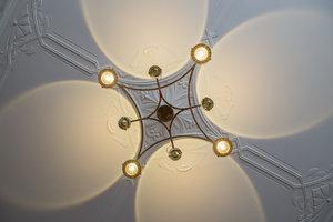 onderaanzicht Hanglamp met lenzen